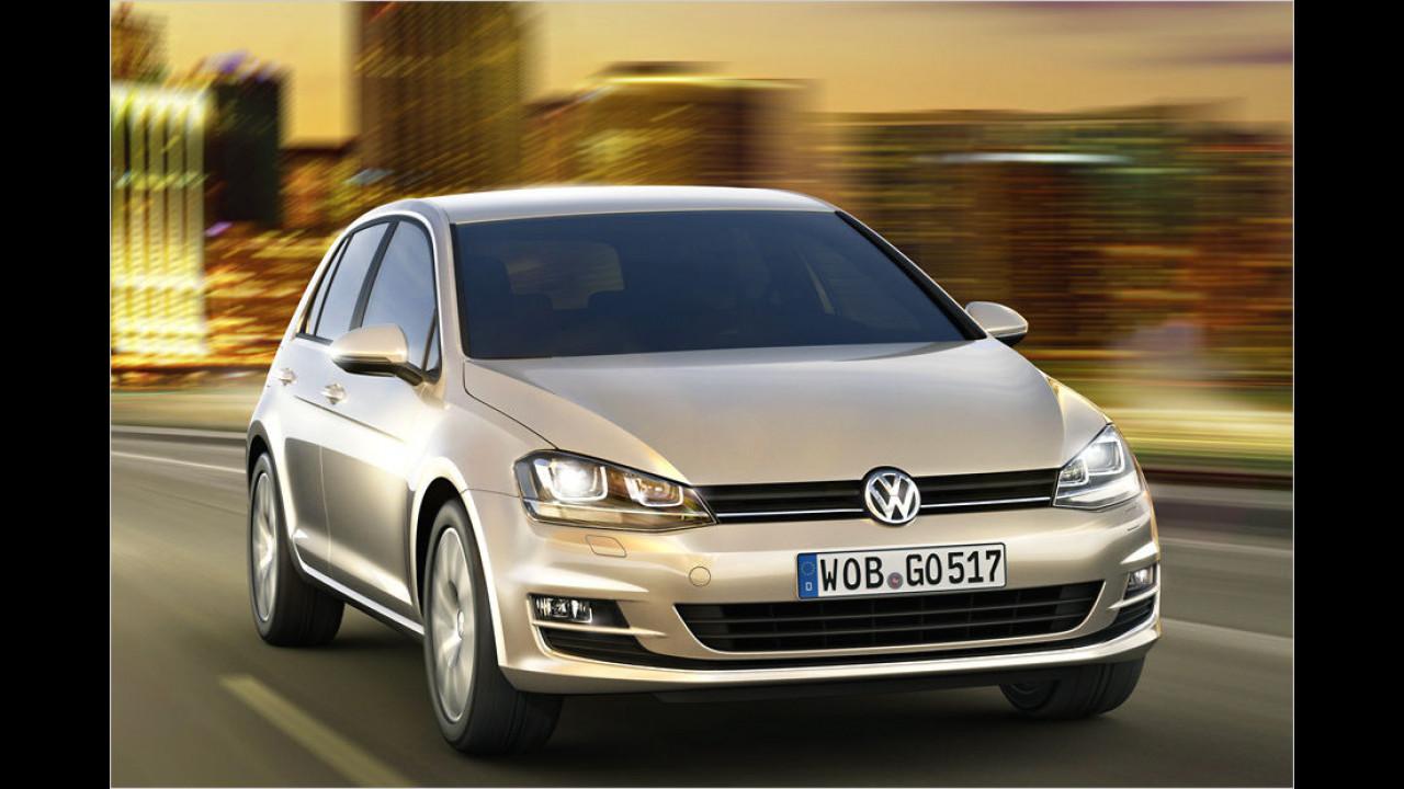 Platz 1: VW Golf