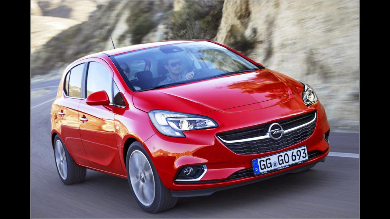 Kleinwagen, Platz 2: Opel Corsa (13.577 Stück)