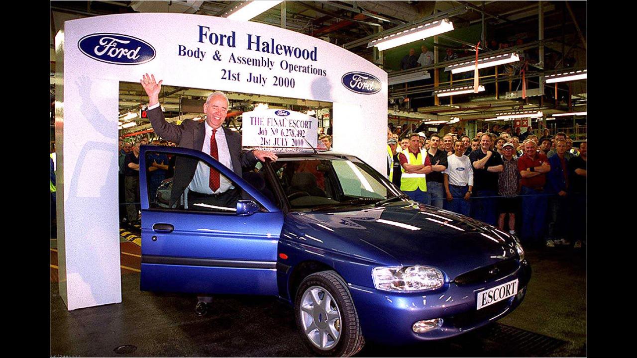 Ford Escort: 19 Millionen (1968 bis 2000)