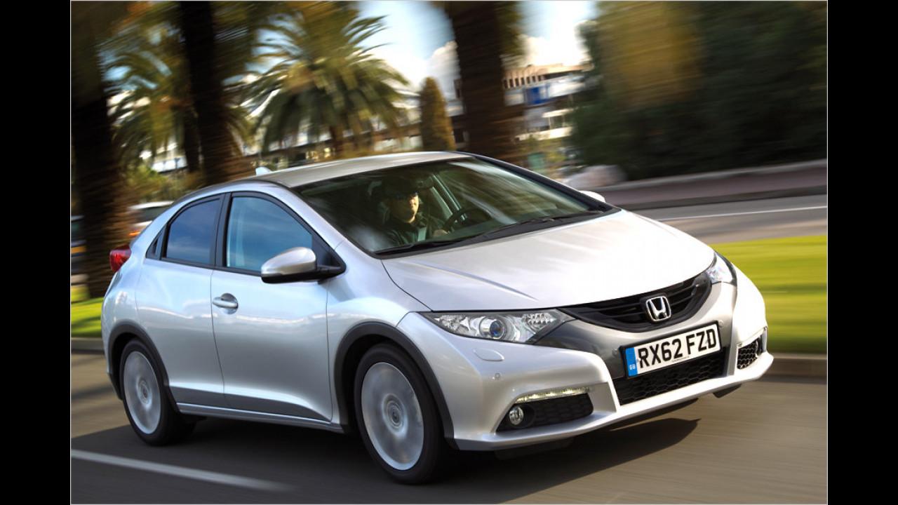 Platz 6: Honda Civic 1.6 i-DTEC