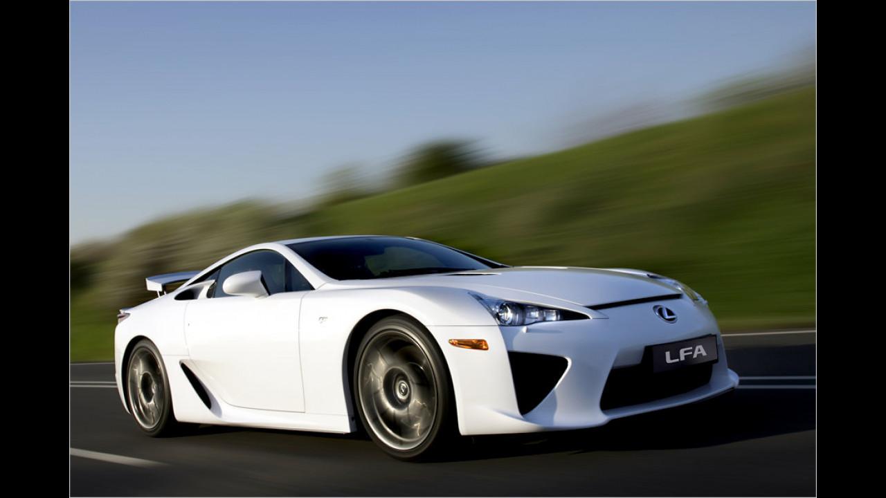 Lexus LFA: 325 km/h