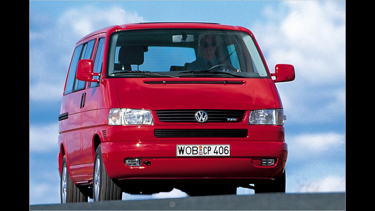 Platz 9: VW T4 Caravelle 2.5 TDI