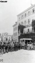 Open Gernsbach - Baden-Baden bus line 1905