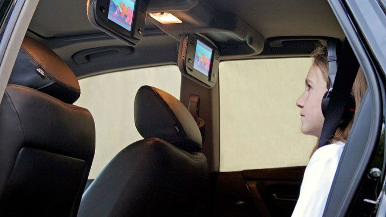 Nissan Murano new DVD entertainment system