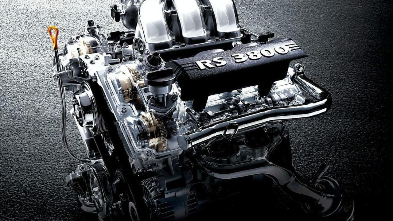 Hyundai 3.9-liter V6 Lambda RS Engine