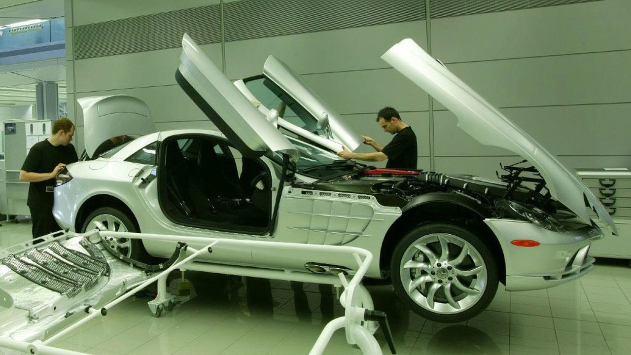 SLR doors hood and body-in-white