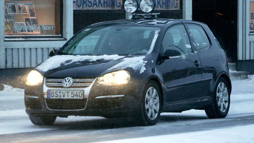 Golf Facelift and GTI Diesel Spy Photos