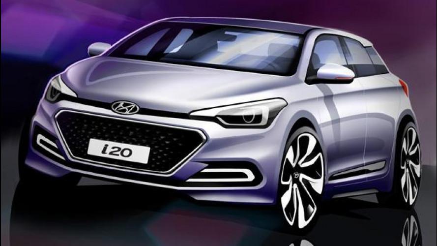 Nuova Hyundai i20, le prime immagini