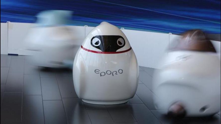 Nissan EPORO, il robottino che non si scontra mai