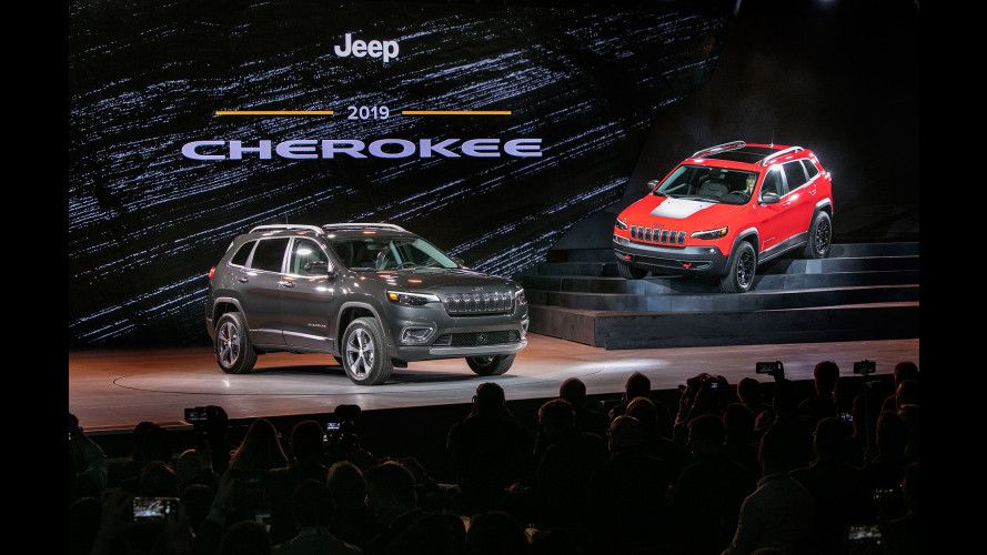 Jeep Cherokee, da Detroit col restyling