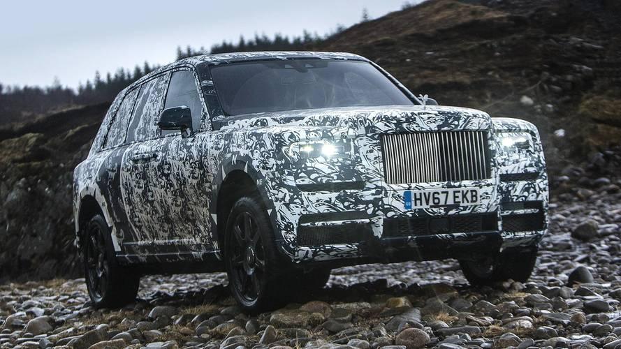 Rolls-Royce reparle du Cullinan et s'associe avec National Geographic