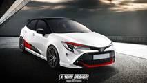 Toyota Auris GRMN Render