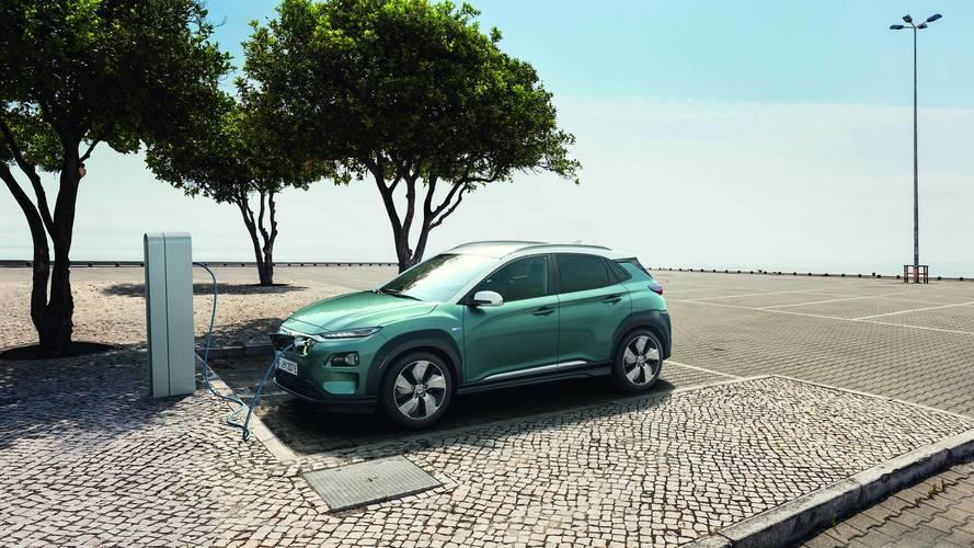 Hyundai KONA Eléctrico 2018, enchufado a la ecología