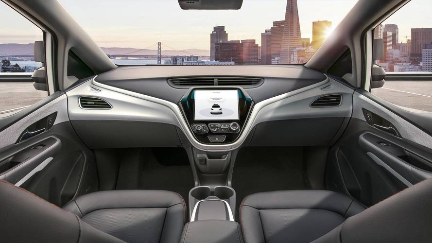 GM Shows Cruise AV, A Control-Free Autonomous Car