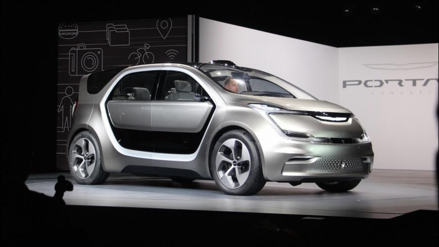 Chrysler, la guida autonoma di FCA al CES 2017 [VIDEO]