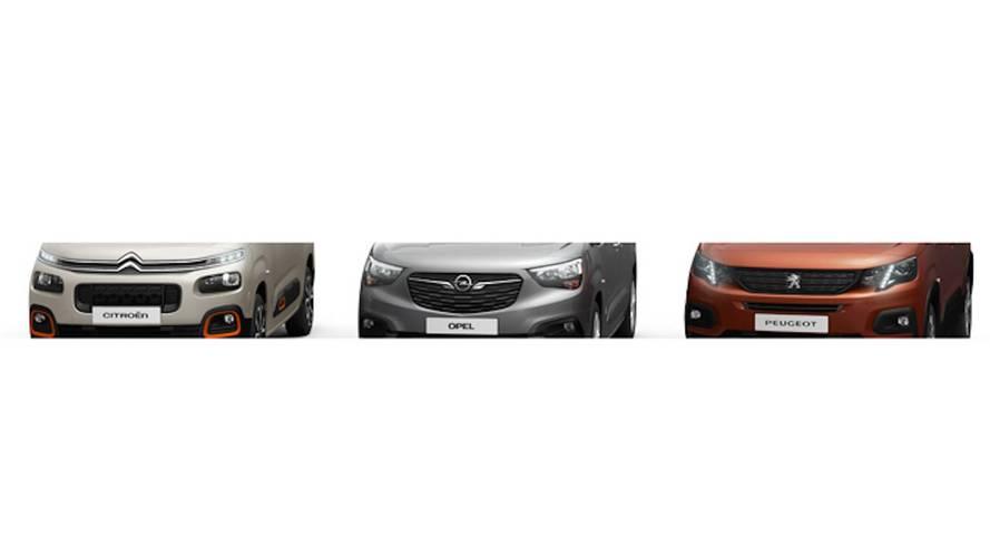 PSA Teases New Citroën, Opel, Peugeot Vans