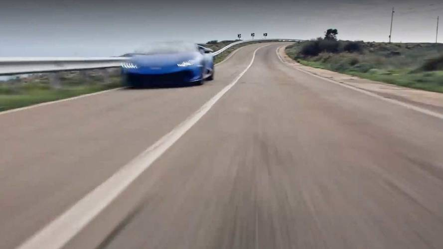 Lamborghini Teases Huracán Performante Spyder Reveal At Geneva