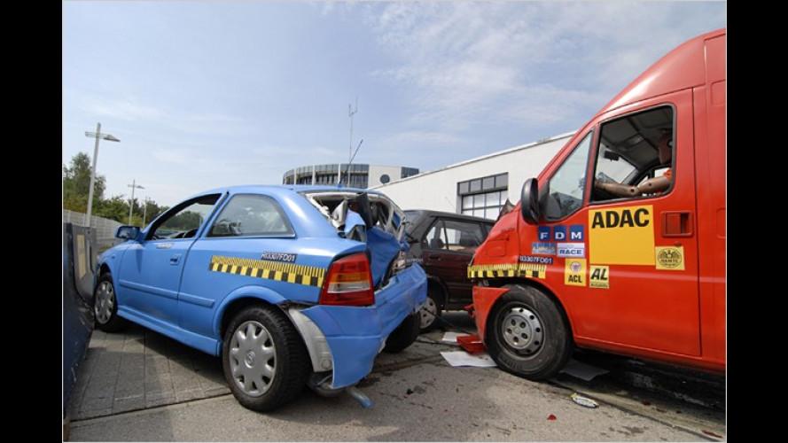 ADAC: Viele Kleinlaster sind bei Unfall ein Sicherheitsrisiko