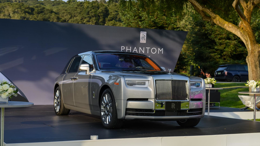 2018 Rolls-Royce Phantom Commands Attention At Monterey