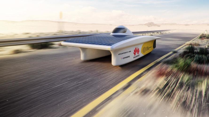 Porsche collabore à un projet de véhicule solaire