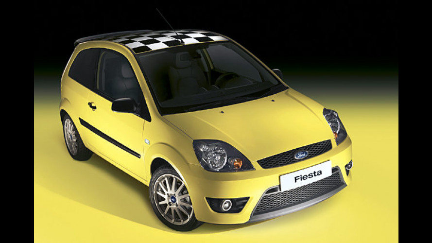 Neues Sondermodell in Rennsportoptik: Ford Fiesta Champ