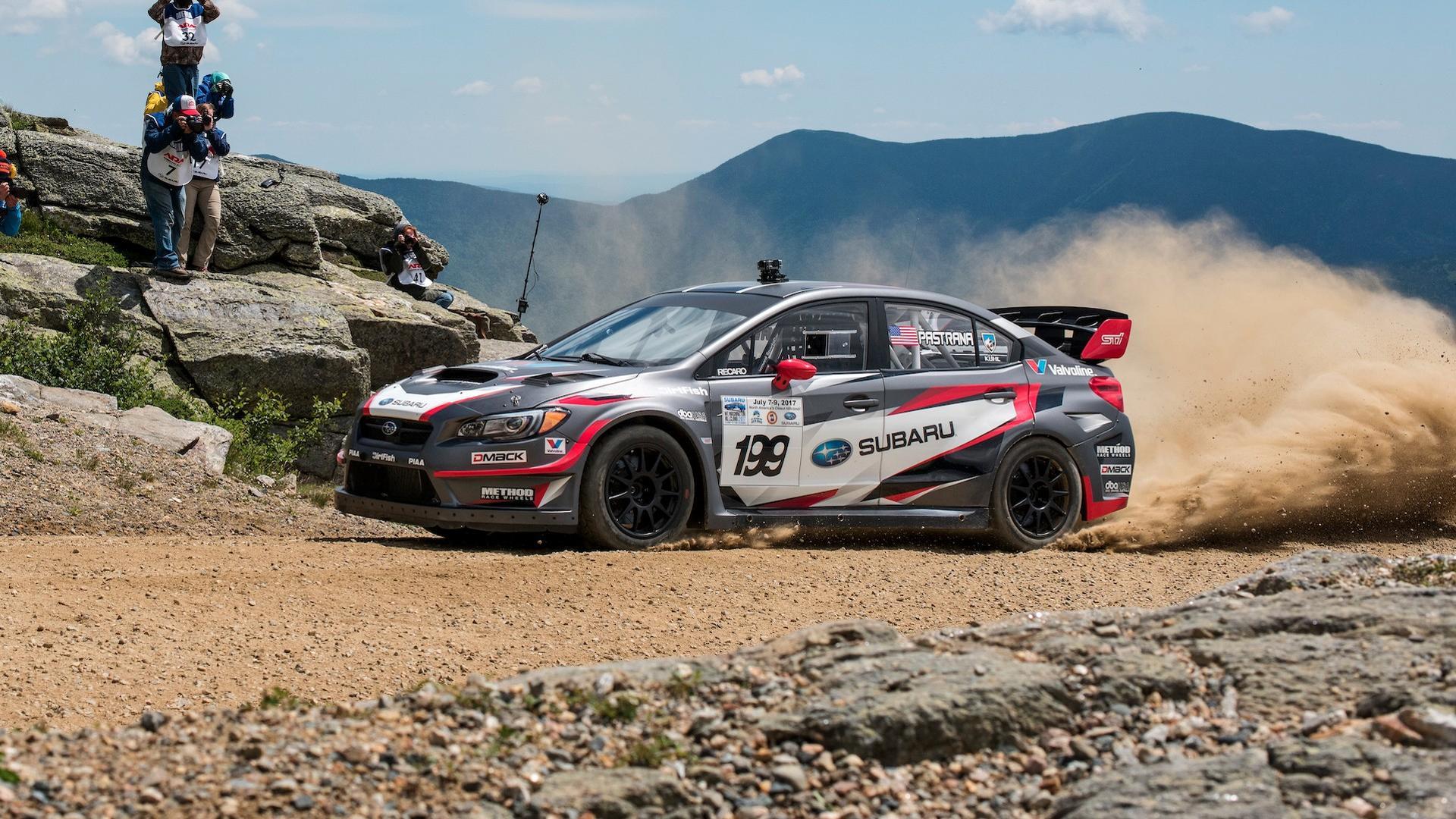 Dirt Rally Subaru Impreza WRX STI Travis Pastrana - YouTube