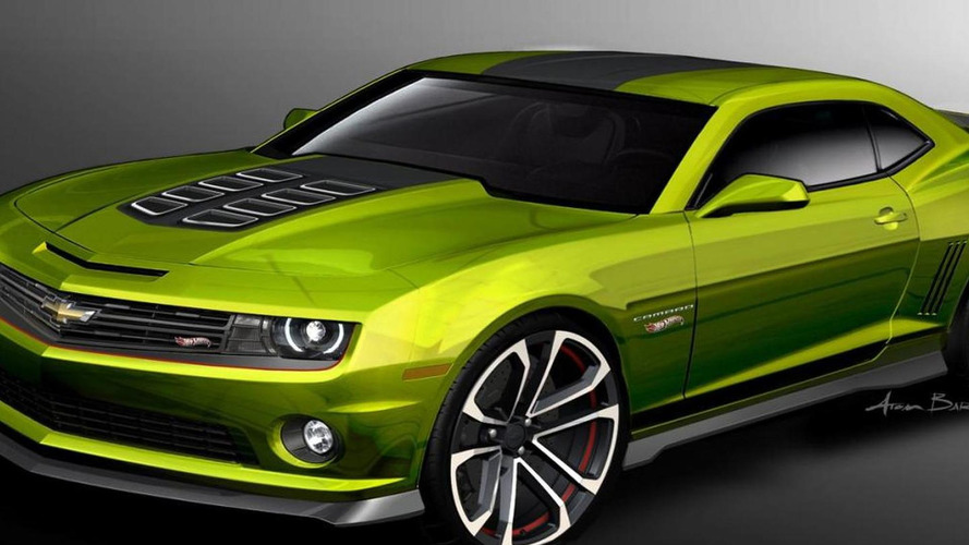 Camaro Hot Wheels Concept debuts at SEMA [video]