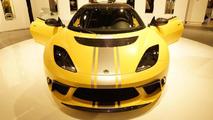 Lotus Evora GTE road car live in Frankfurt