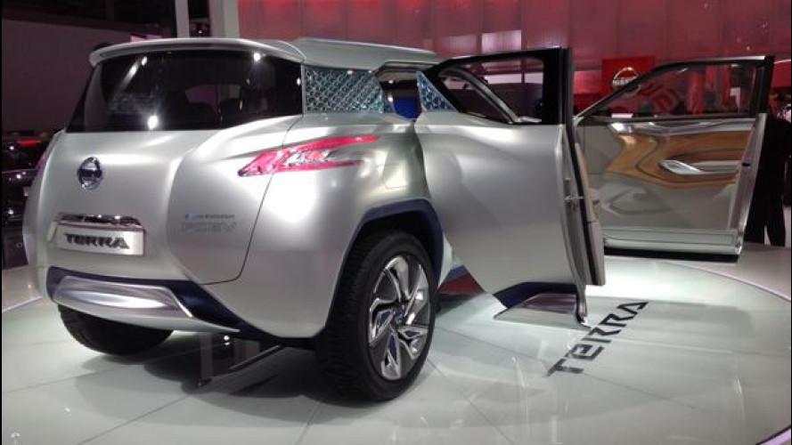 Salone di Parigi:  Nissan TeRRA e Pivo3, le elettriche funzionali e fashion