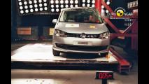 Crash Test Volkswagen Sharan