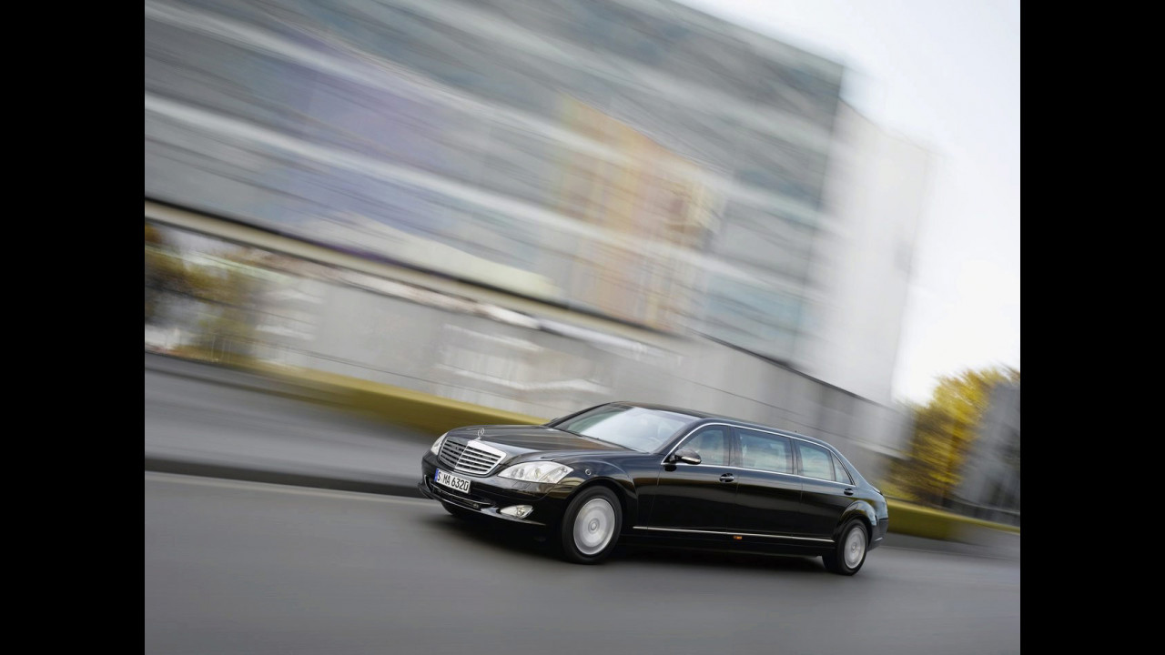 Mercedes-Benz S 600 Pullman Guard  L