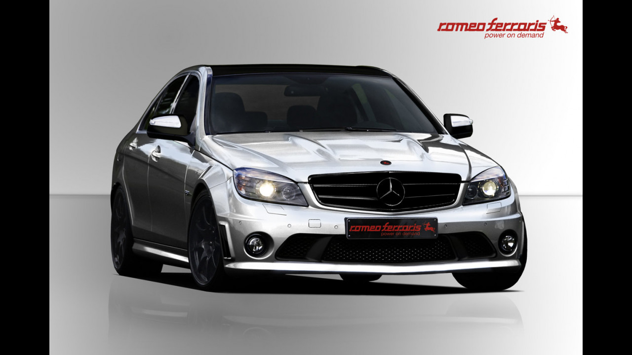 Mercedes C63 AMG by Romeo Ferraris