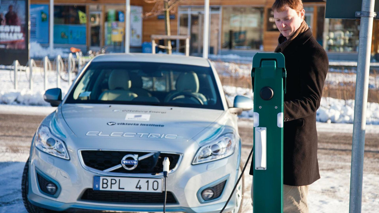 Volvo C30 Electric with ELVIIS technology 23.2.2012