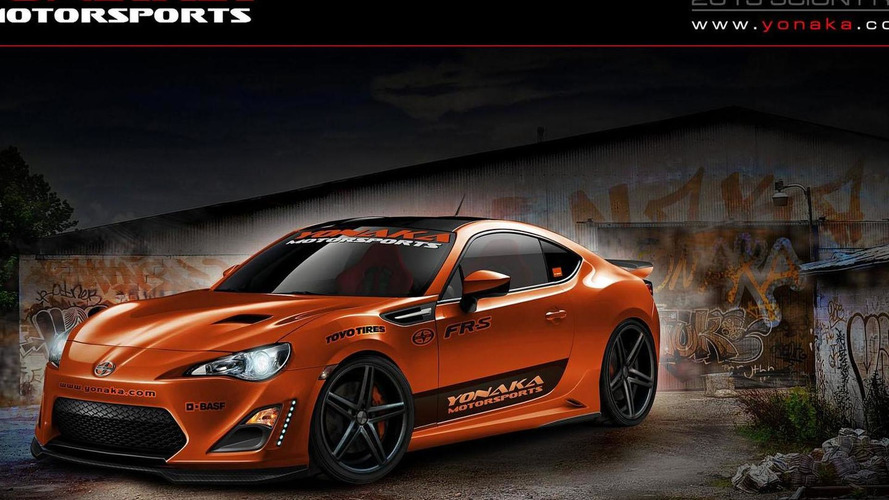 Fox Marketing Scion FR-S previewed