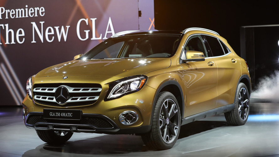 Mercedes GLA gets a new look, interior upgrades for 2018