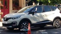 Atração no Salão de SP, Renault Captur é flagrado durante gravação de comercial