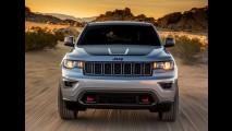 Vazou: Jeep Grand Cherokee Trailhawk aparece em primeiras fotos oficiais