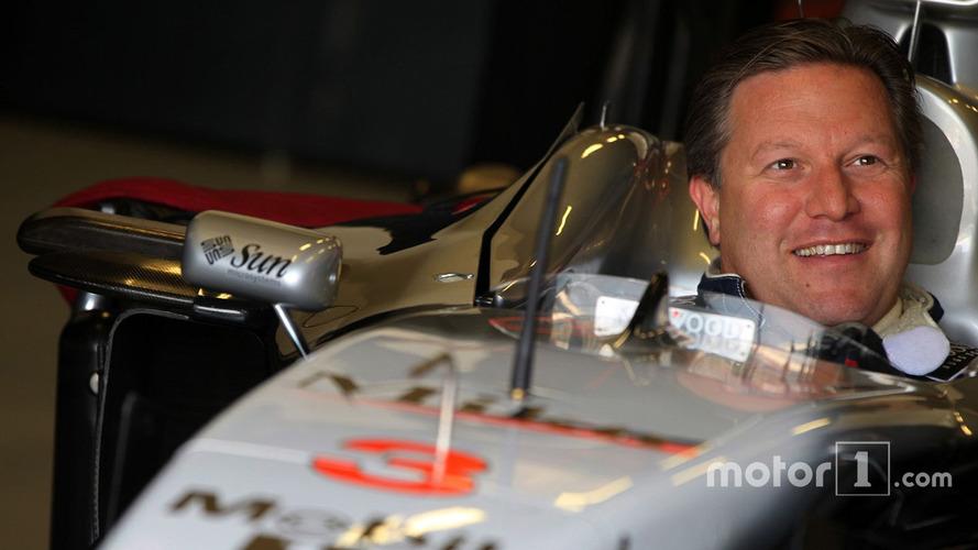 Zak Brown nouveau patron du groupe McLaren