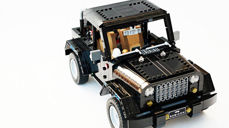 Jeep Wrangler Rubicon Lego Ideas