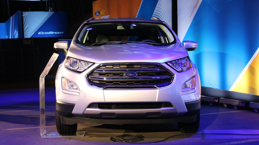Ford EcoSport 2018 no Salão de Los Angeles