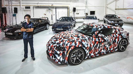 265 és 440 lóerős változatban is elérhető lesz az új Toyota Supra