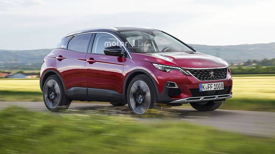 Peugeot 1008 Render Imagines A Tiny Crossover With A Lion Badge