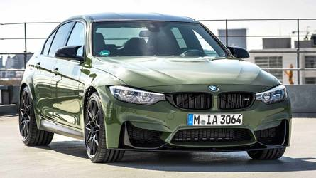 BMW M3 Urban Green: obra de BMW Individual