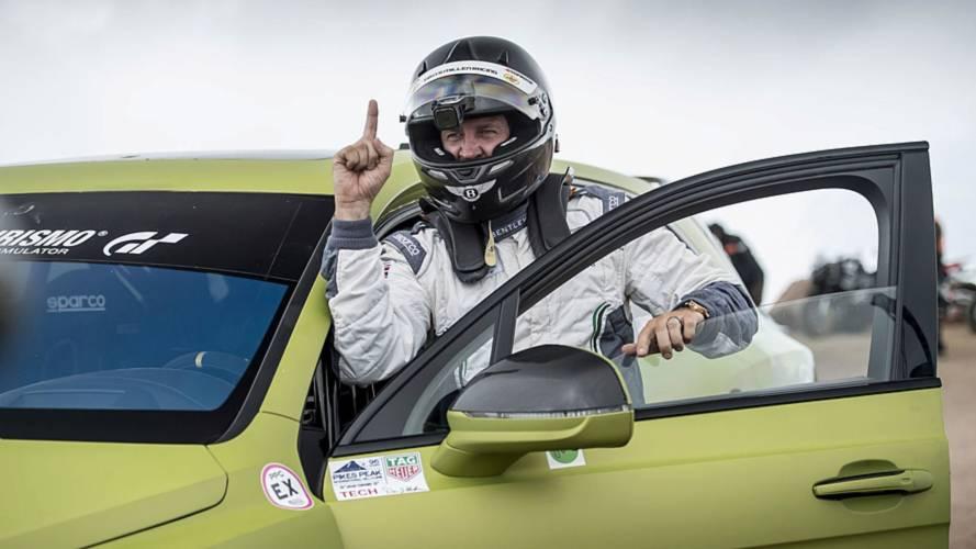 Bentley Bentayga SUV Record - Pikes Peak