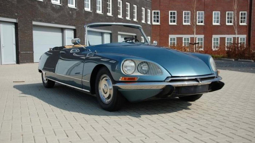 Rare 1968 Citroën DS 21 Decapotable for sale in the Netherlands