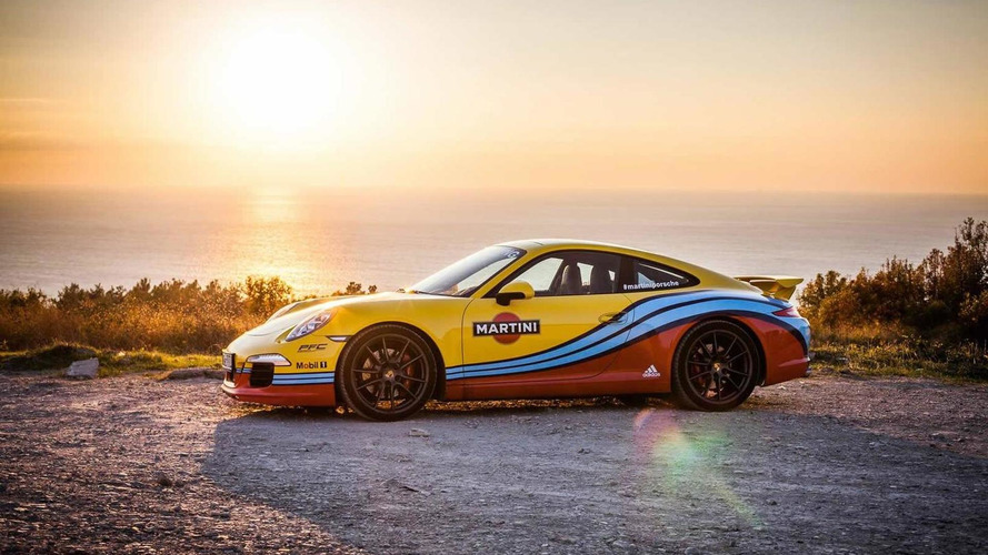 Porsche dresses up the 911, Panamera, Macan and Cayenne in Martini Racing livery