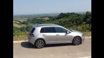 Volkswagen Golf GTE, test di consumo reale Roma-Forlì