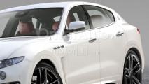 Maserati Levante GTS, il rendering