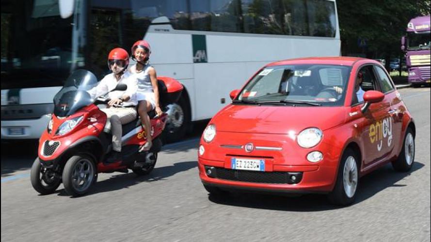 Enjoy di ENI lancia lo scooter sharing a Milano
