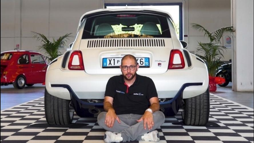 Giannini 350GP, una supercar in formato Cinquino [VIDEO]
